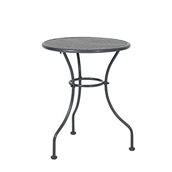 greemotion Table de jardin ronde Vienna - Table ronde diamètre 60 cm ...