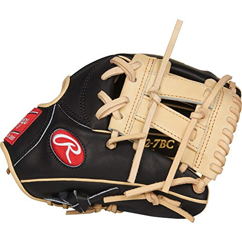 Rawlings PROR882-7BC Heart of the Hide - R2G, Black/Camel, 11.25