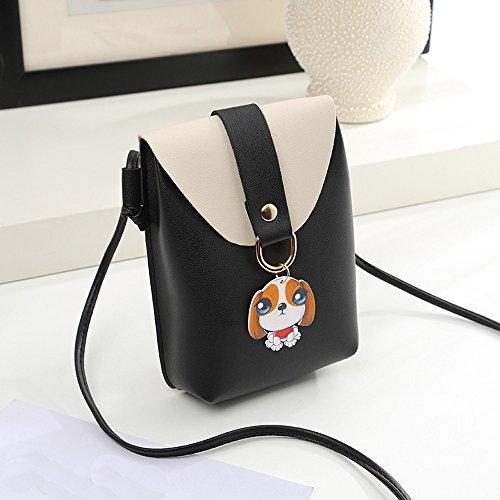 Bag Cover Coin Bag Women Bag Fashion SOMESUN Shoulder Body Bag Handbag Crossbody Dog Bag Phone Black Cross w6qSWPU
