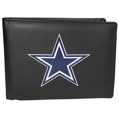 Siskiyou NFL Dallas Cowboys Bi-Fold Wallet Logo, Large, Black]()