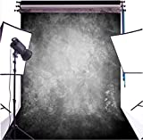 DULUDA 5X7FT Abstract Black Grey Retro Photograghy Backdrop Customized Photo Background CP studio prop GMTX08A