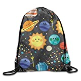 ZQWEOO Solar System Pack A Backpack Print Gorgeous Sports For Girls