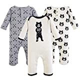Yoga Sprout baby girls Cotton Coveralls