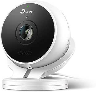 TP-Link Kasa Cam Outdoor, 1080P HD, Waterproof, Built-in Siren, Works with Google Assistant and Alexa (KC200)