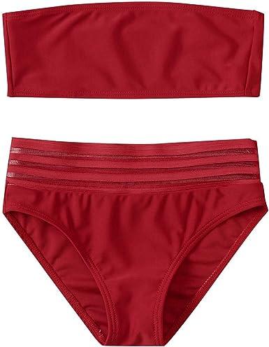 Toddler Child Girls Ruffles Hollow Summer Swimwear Swimsuit Bikini Set Outfits