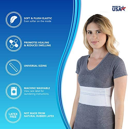 "NYOrtho Elastic Rib Support Belt - Torso Compression Binder Binder Rib Brace Treatment,Wrap for Natural Healing (Female - Fits 30""-45"" Chest) 2"