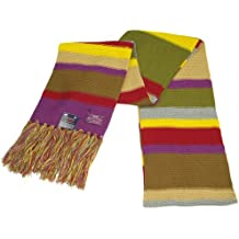 Doctor Who Scarf - Official BBC Tom Baker Scarf- Fourth Doctor Scarf by Lovarzi