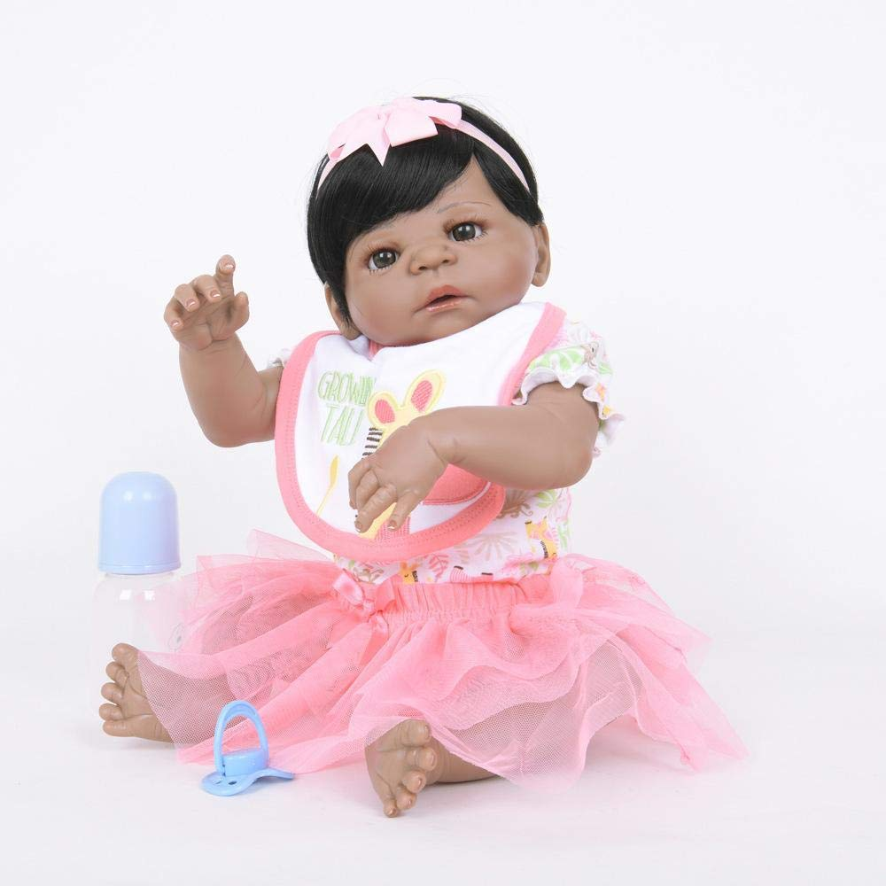 edición limitada Hongge Reborn Baby Doll,Se ve una una una muñeca renacida Real Juguete de Renacimiento de la Pareja de Crecimiento Infantil 55cm  envío gratuito a nivel mundial
