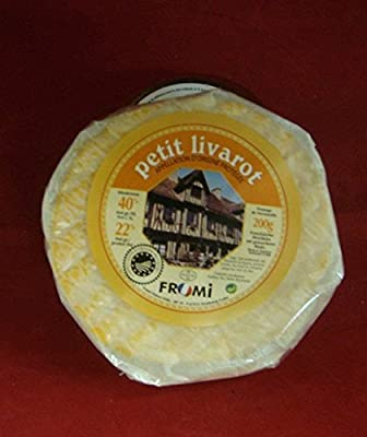 French Cow Milk Cheese, Petit Livarot - 7 Oz