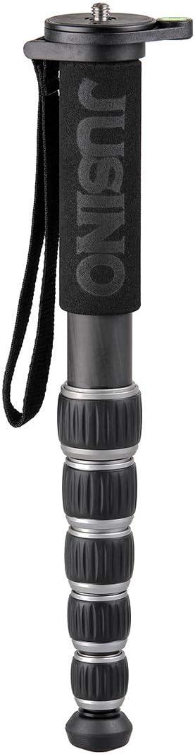 Jusino Mp 326c Robustes Leichtes Karbon Monopod Mit 6 Kamera