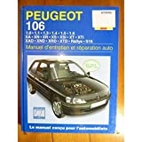 Peugeot 106 Essence Et Diesel (French service & repair manuals) (French Edition)