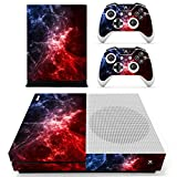 Cheap eSeeking Whole Body Vinyl Skin Sticker Decal Cover for Microsoft Xbox One Slim Console Red Galaxy Nebular