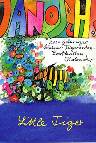 - Janoschs 200-jähriger Tigerenten-Postkarten-Kalender