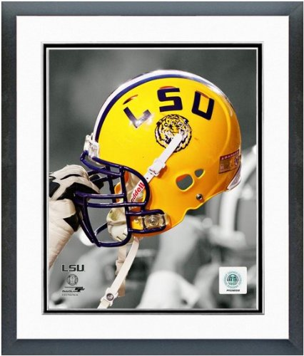 (LSU Tigers Helmet Spotlight Photo 12.5