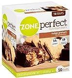Abbott Zone Perfect Classic Fudge Graham Nutrition Bars 10-pk. For Sale