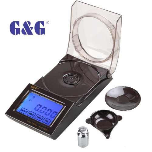 G & G Digitale Präzisionswaage 0,001g/20g