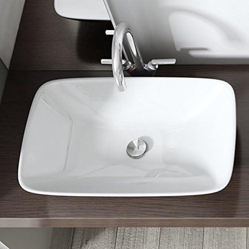 2 Chasse deau 18.5cm LHDDWY Valve de vidange pour WC avec Double Bouton r/éservoir deau connect/é