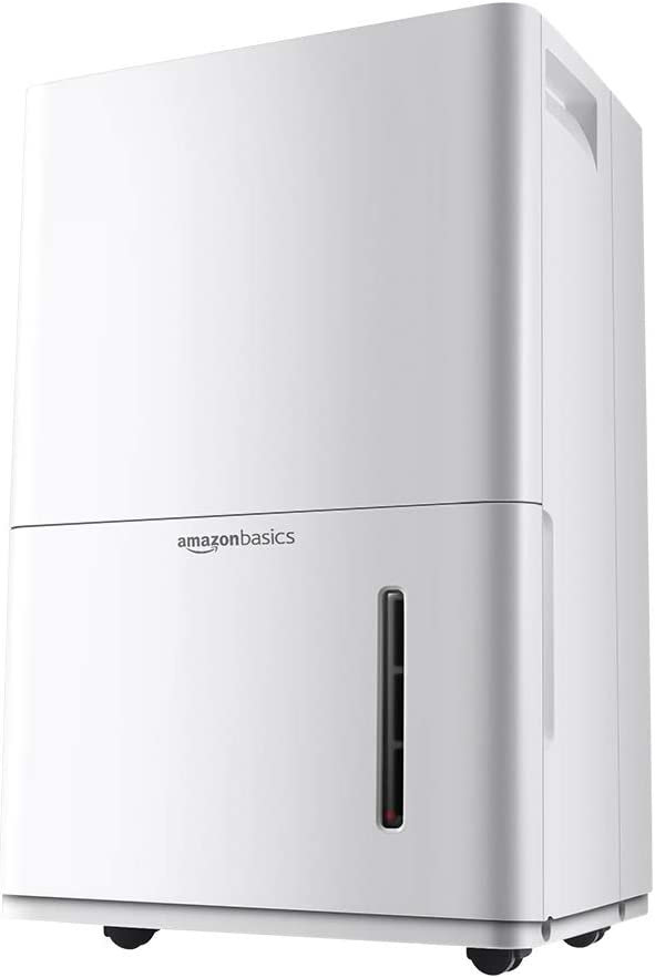AmazonBasics Dehumidifier - For Areas Up to 4,000 Square Feet, 50-Pint, Energy Star Certified