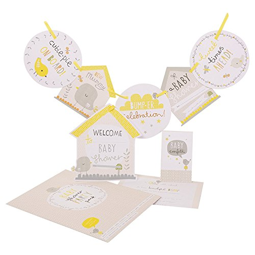 Hallmark A Little Birdie Told Me Baby Shower Party Kit [Energy Class A+++] ()