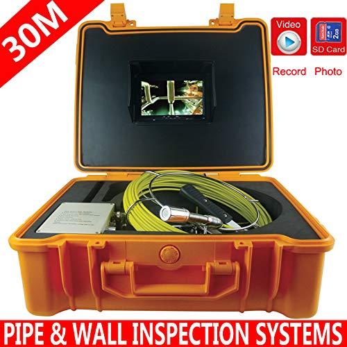 宅配 管の検査システムの下水道の防水カメラの管のパイプラインの排水検査システム7