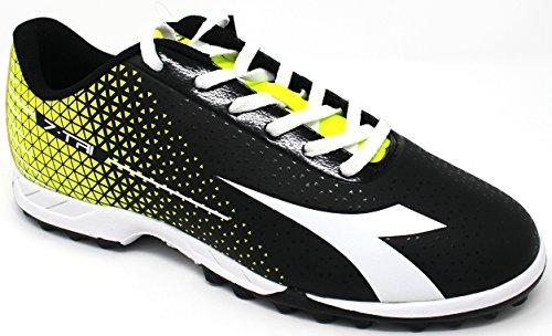 Diadora Chaussures De Sport Pour Hommes - 7 Tri-tf - 172392-c3740 - Noir / Blanc / Jaune Fluo-40