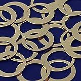 20pcs tibetara 1 3⁄8''(35mm)brass Round Circle Pendants Blank Stamping Tags Diy Stamping Jewelry,inner diameter 25mm