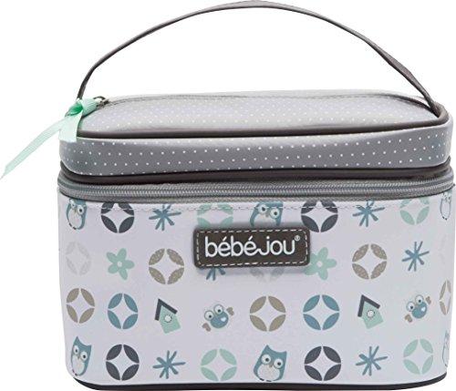 Bebe Jou 310632 Beauty Case Bambini, Owl Family