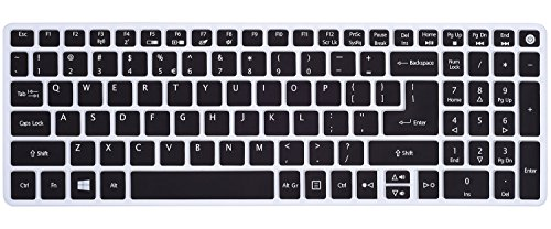 Acer-Aspire-E-15-Keyboard-Cover-Ultra-Thin-Silicone-Skin-for-Acer-Aspire-E15-E5-575-E5-576G-E5-573G-ES15-ES1-572-Aspire-E-17-E5-772G-Aspire-V15-V17-VN7-592G-VN7-792G-F15-F5-571-F5-573G-Black