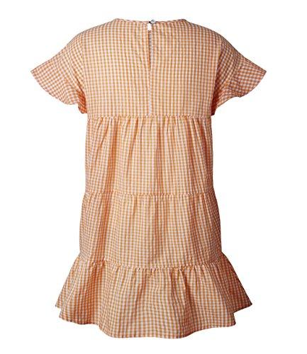 Sommer Damen Kleid Casual Rundkragen Kurzärmlig Minikleid Fashion ...