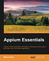 Appium Essentials Front Cover