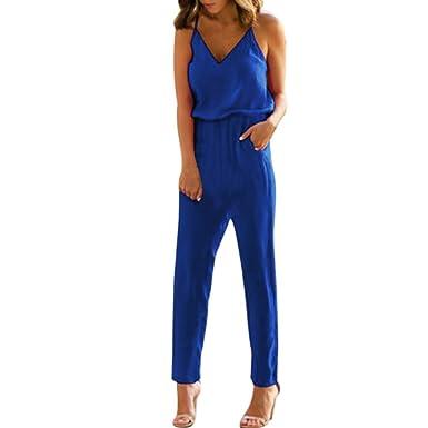 acheter populaire 95000 0ce38 Combinaison Femme Col V Salopette Chic Combi Short ...