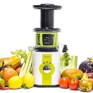 Licuadora para frutas y verduras de prensado en frío, extractor de jugo Cecojuicer de Cecotec.