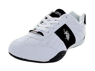 Men's/Women's U.S. Polo Assn. Sparrow Casual Shoe White/Navy 201420152016
