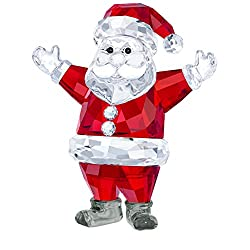 Crystal Santa Claus Christmas Decoration Figurine