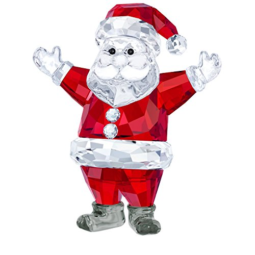 Swarovski Crystal Santa Claus Christmas Decoration Figurine 5291584 (Crystal Christmas Figurines)