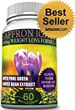 Saffron Extract Ignite with Green Coffee Bean Extract ~ 488mg ~ Best Diet Pill ~ Mood Enhancer ~ Made with 100% Pure Saffron Extract ~ HIGHEST LEVELS OF CHLOROGENIC ACID ~ 54.9%
