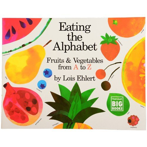 Constructive Playthings HB-20 Look And Learn Big Book -Eating The Alphabet