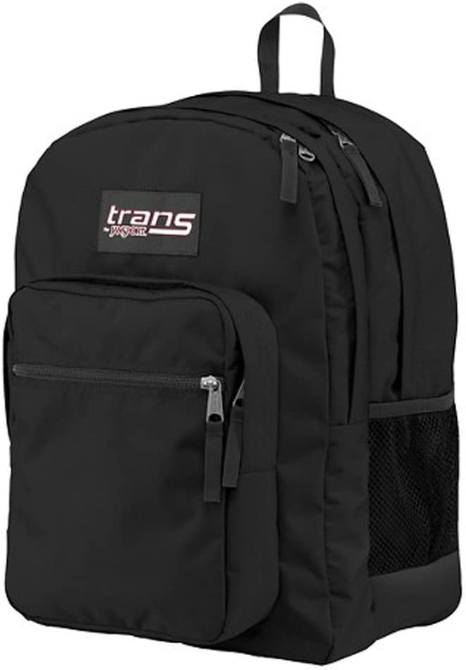 New Trans SuperMax Laptop Backpack by JanSport Black
