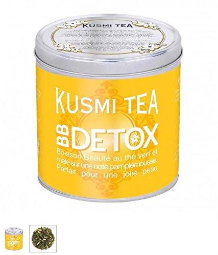 Kusmi Tea Paris – Premium Luxury Teas – BB DETOX (Yellow tin) – 8.8oz / 250gr Tin Review