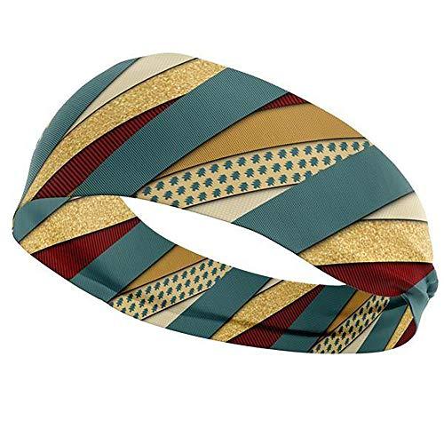 (InksewnUsa Golden Present Athletic Headband)