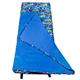 Wildkin Easy Clean, Water-Resistant Nap Mat, Olive Kids by Children's Easy Clean Nap Mat with Built in Blanket and Pillowcase, Pillow Insert Included, Premium Microfiber, Ages 3-7 years – Heroes
