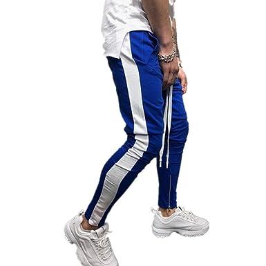 Odot Casual Skinny Pantalones Largos Deportivos De Jogging Running ...