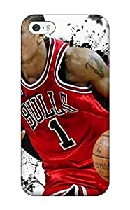 Case Cover Skin For ipod touch5 (amazing Derrick Rose Chicago Bulls)