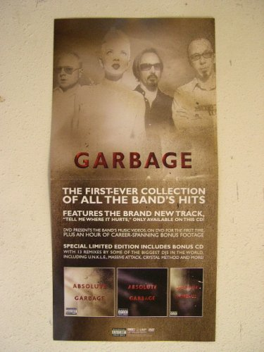 Garbage Poster Absolute Band Shot