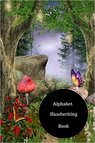 Alphabet Handwriting Book: Alphabet Writing Worksheets For ...