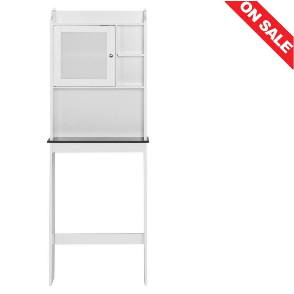 Over The Toilet Storage Cabinet Bathroom Practical Indoor Cupboard Home Storage Shelves Bathroom Furniture & Ebook by Easy2Find.