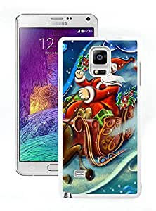 Personalized Design Merry Christmas White Samsung Galaxy Note 4 Case 99