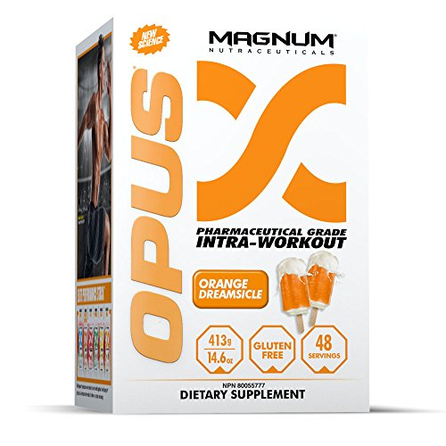 Cheap Magnum Nutraceuticals OPUS Intra-Workout – 48 Servings – Orange Dreamsicle – Muscular Growth – Improve Strength – Improve Recovery – Delay Muscular Fatigue
