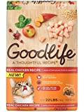 GOODLIFE Dry Food For Cats Chicken Recipe, 22 lbs. Bag (Pack of 1) by The Goodlife Recipe