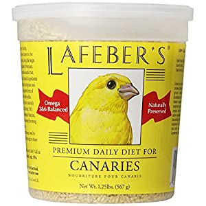 LAFEBER'S Premium Daily Diet Pellets Pet Bird Food, Made with Non-GMO and Human-Grade Ingredients, for Canaries 1